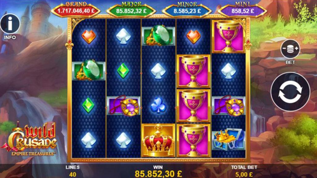 wild crusade jackpot casinochecken